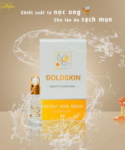 Serum trị mụn goldskin vàng