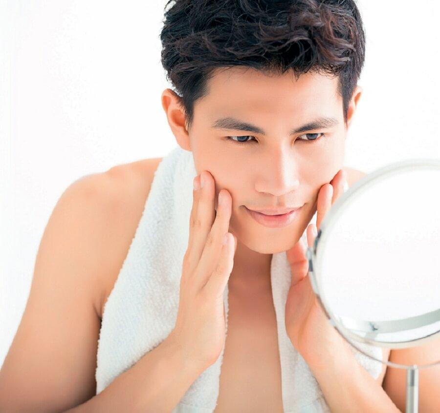 Sự hiệu quả của trị mụn goldskin dành cho nam giới