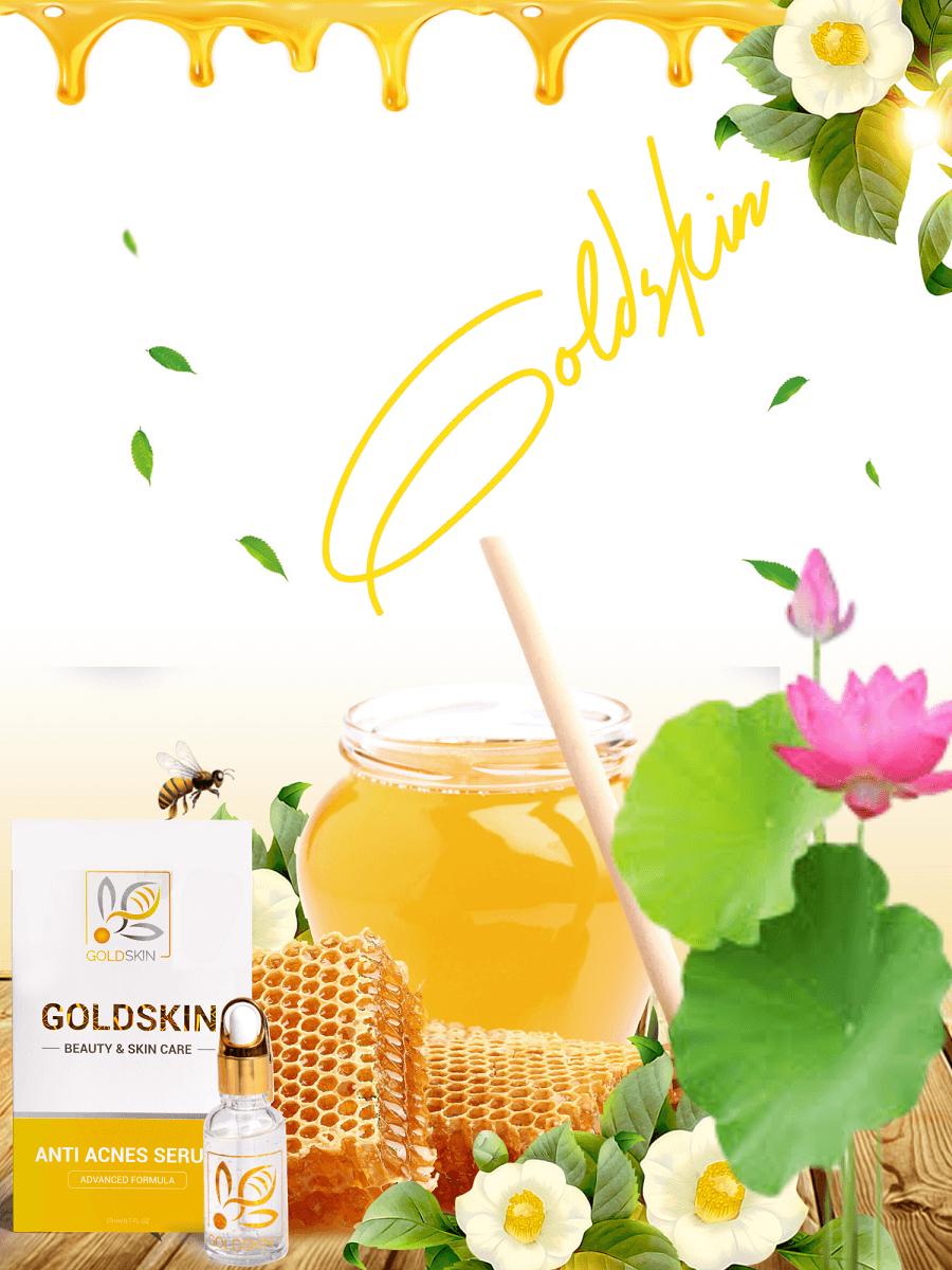 Sản phẩm nọc ong trị mụn goldskin giá bao nhiêu?