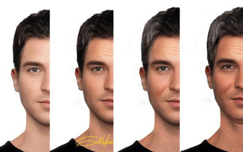 Mô tả sự thay đổi màu da qua từng giai đoạn sử dụng