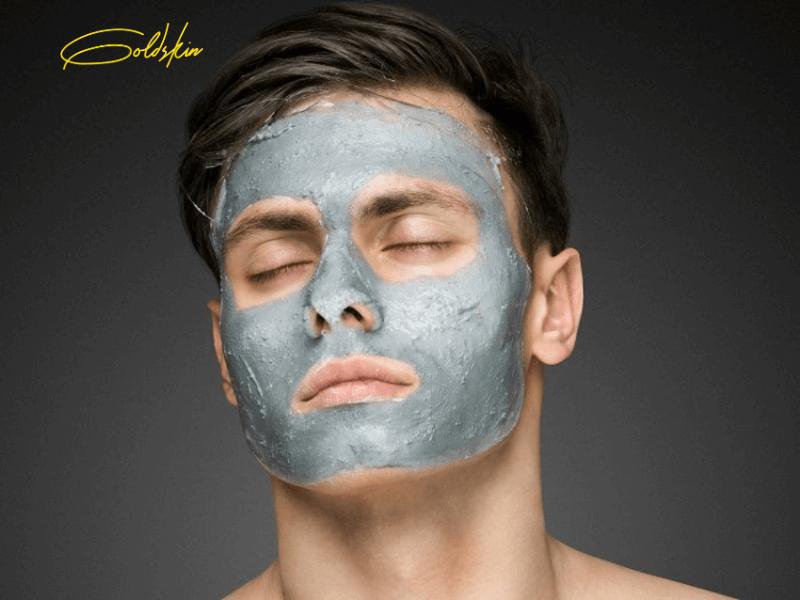 Serum trị mụn Goldskin đồng hành cùng bạn trong quá trình sau khi đắp mặt nạ nhằm để dưỡng da