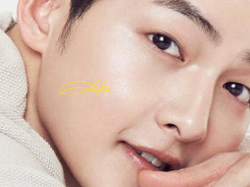 Làn da sáng mịn như Song Joong-Ki