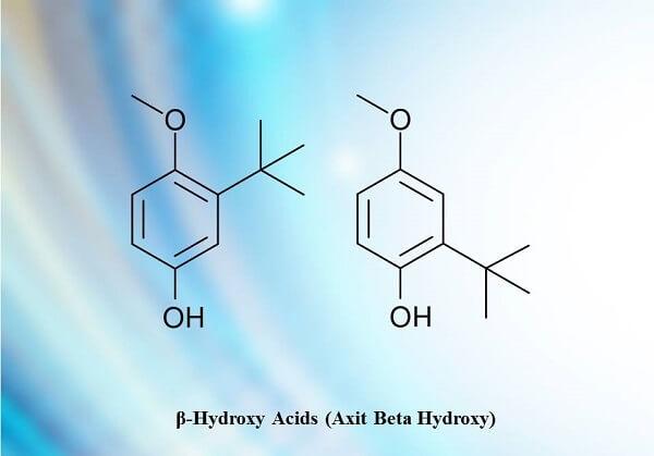 BHA là tên viết tắt của hợp chất hóa học Beta Hydroxy Acids