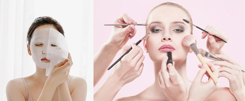 Không nên lạm dụng mỹ phẩm trong độ tuổi dậy thì và đắp mặt là những cách đơn giản để ngăn ngừa mụn