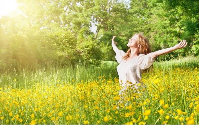 Cuộc sống thoải mái ngoài giúp mình có một tâm trạng vui vẻ mà còn giúp mình sỡ hữu làn da sáng đẹp mịn màng
