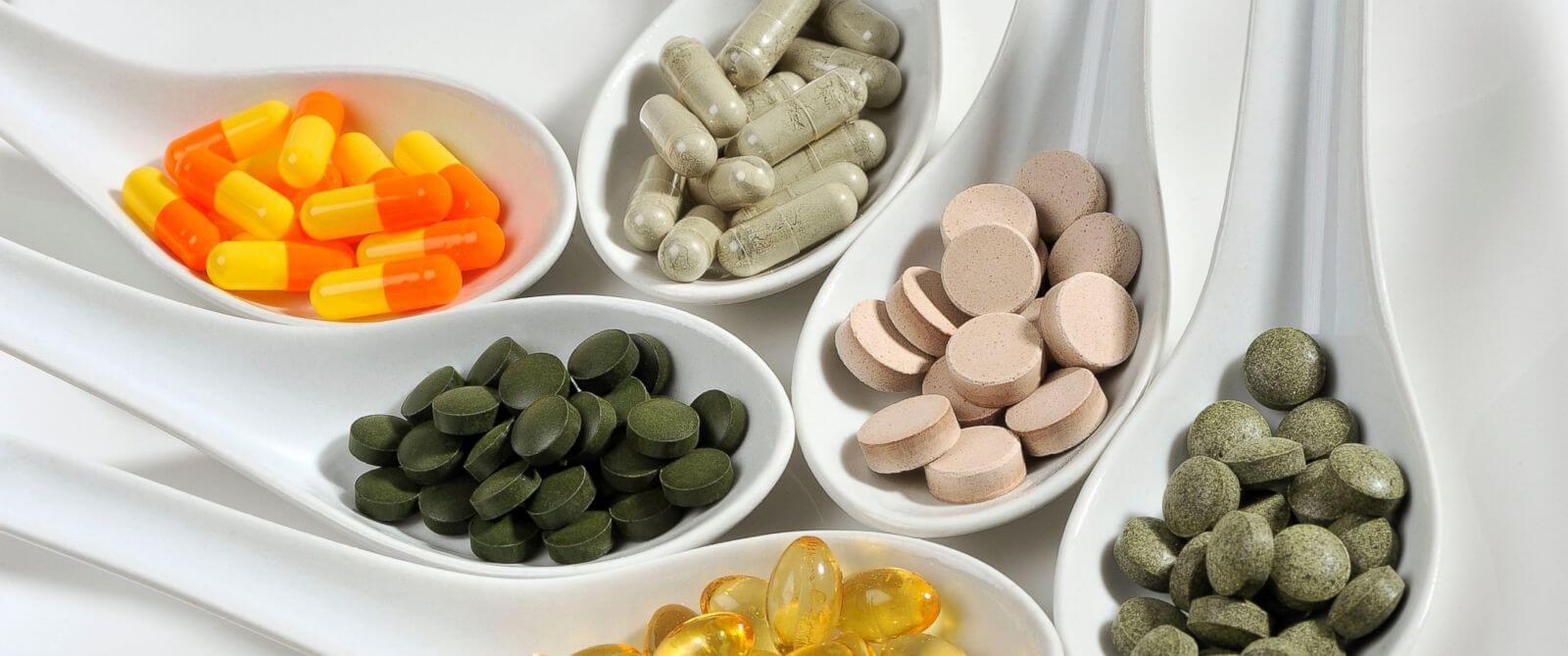 Các loại thực phẩm chức năng sẽ hỗ trợ rất tốt trong việc tiêu viêm