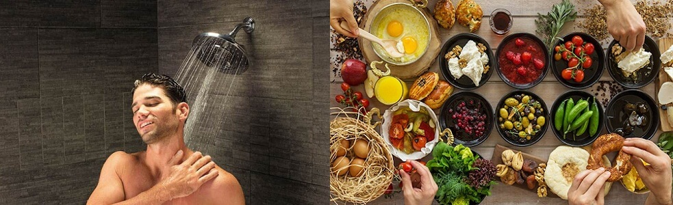 Giữ vệ sinh thân thể sạch sẽ và ăn uống lành mạnh là phương pháp đơn giản mà hiệu quả nhất để tránh nổi mụn nước