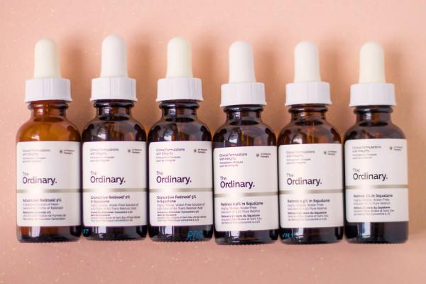 Bộ sản phẩm Ordinary gồm đầy đủ các sản phẩm cho các bước skincare