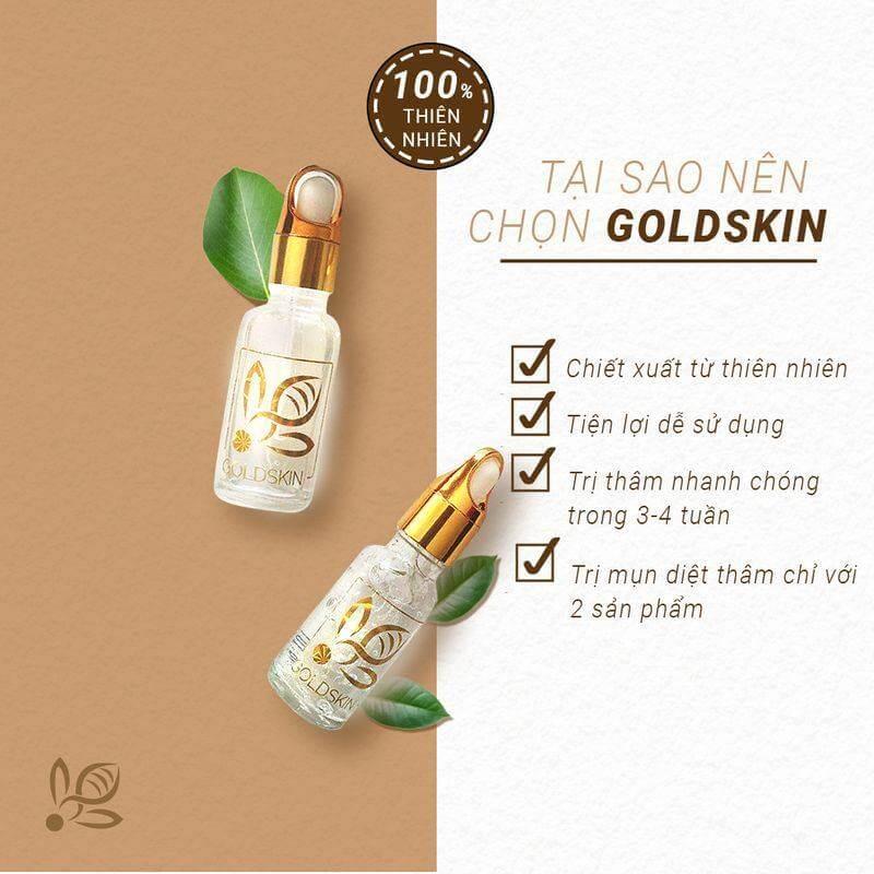 Goldskin nhận được khá nhiều phản hồi tích cực từ phía khác hàng đã dùng