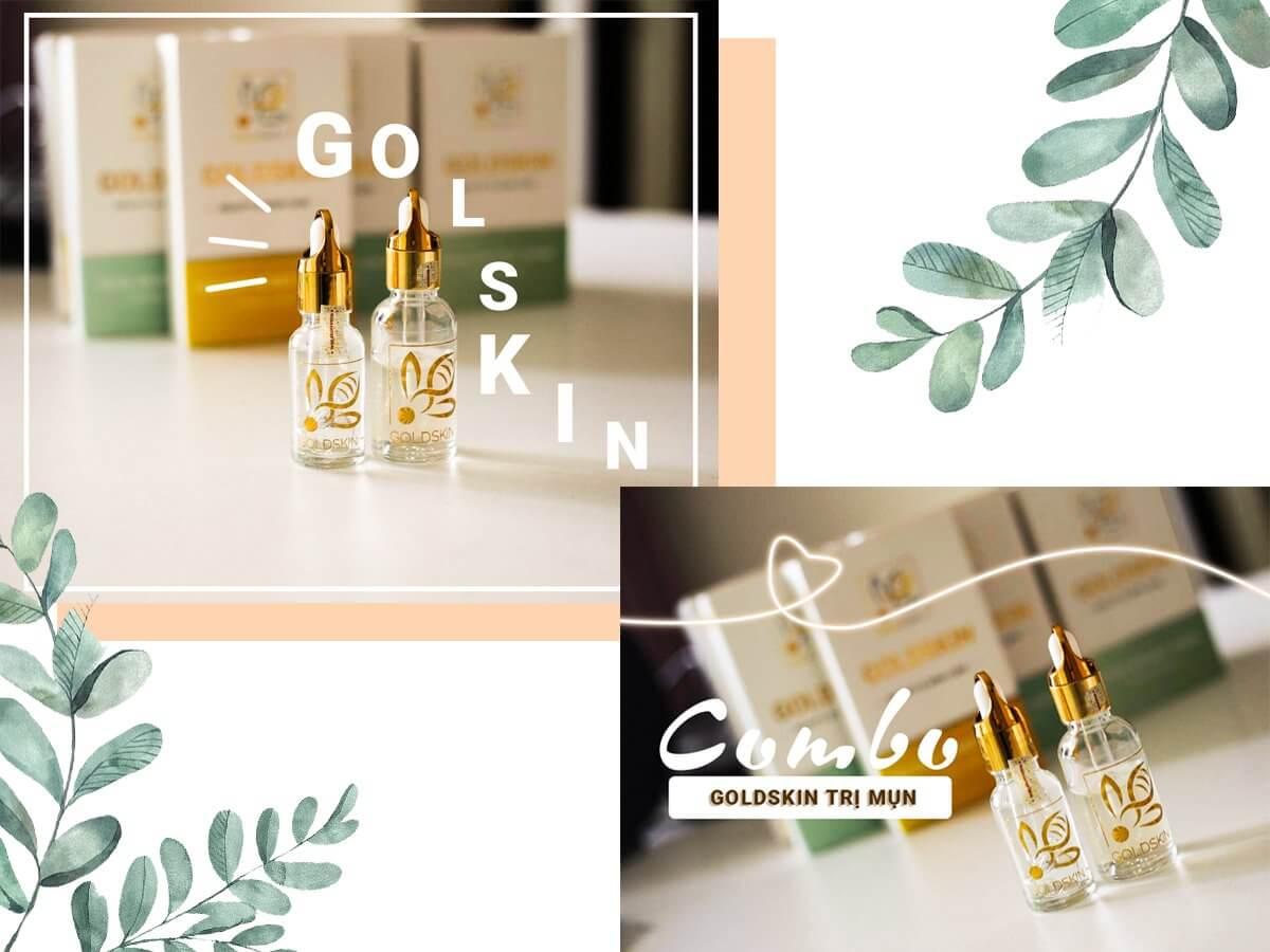 Sản phẩm Goldskin chiết xuất hoàn toàn từ thiên nhiên nên phù hợp với mọi loại da