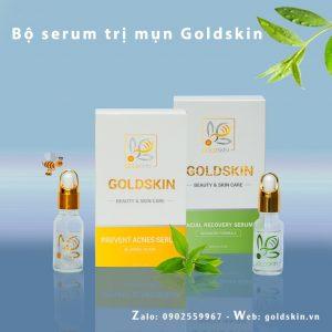 Bộ Serum mụn Goldskin