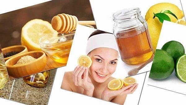 Mật ong và chanh là những nguyên liệu có công dụng tuyệt vời trong việc trị mụn