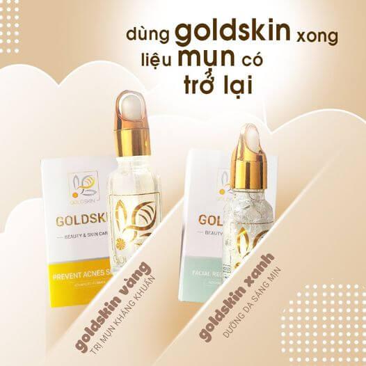 Goldskin xuất xứ tại Việt Nam từ các thành phần hoàn toàn thiên nhiên