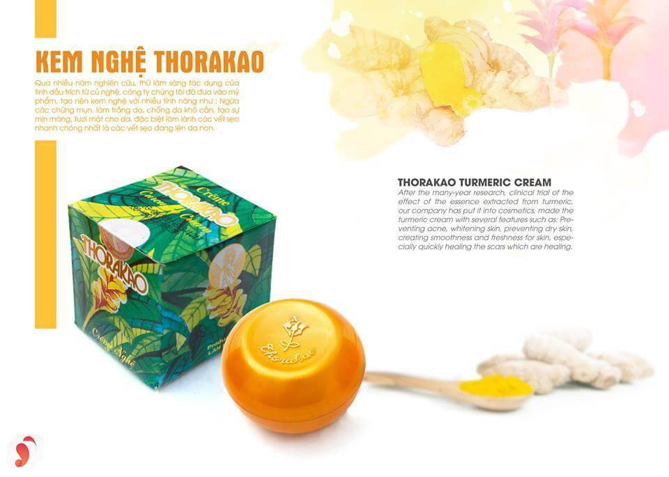 Kem nghệ thorakao xuất hiện rộng rãi trên thị trường vì đây là thương hiệu của Việt Nam