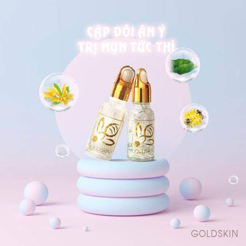 Serum Nọc Ong trị mụn Goldskin hoàn toàn tự nhiên nên khi dùng da vẫn mềm mịn bình thường