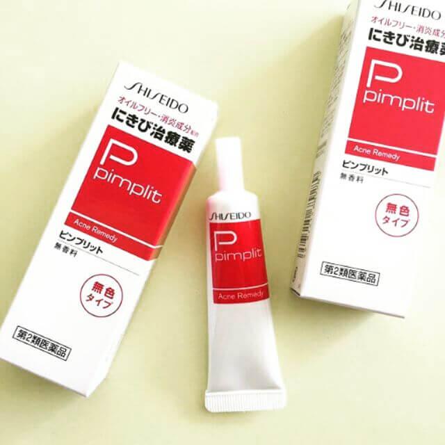 Kem trị mụn shiseido pimplit có tốt không?