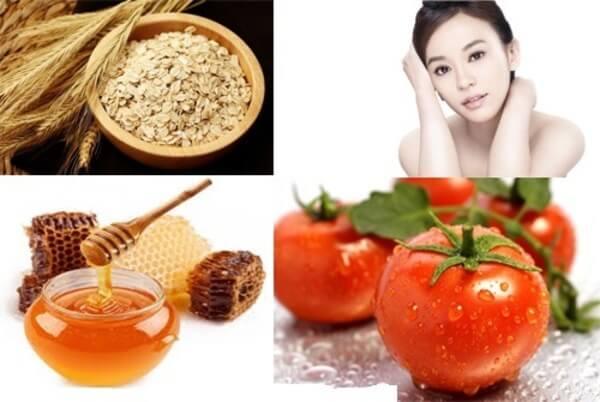 Sử dụng mặt nạ cà chua trị mụn đầu đen trên mũi tại nhà