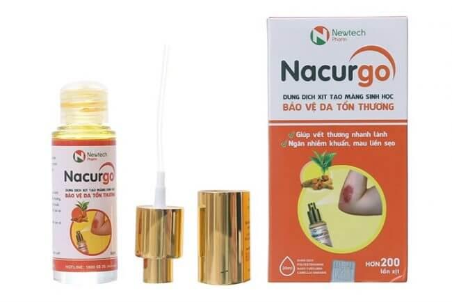 Nacurgo trị mụn có tốt không?
