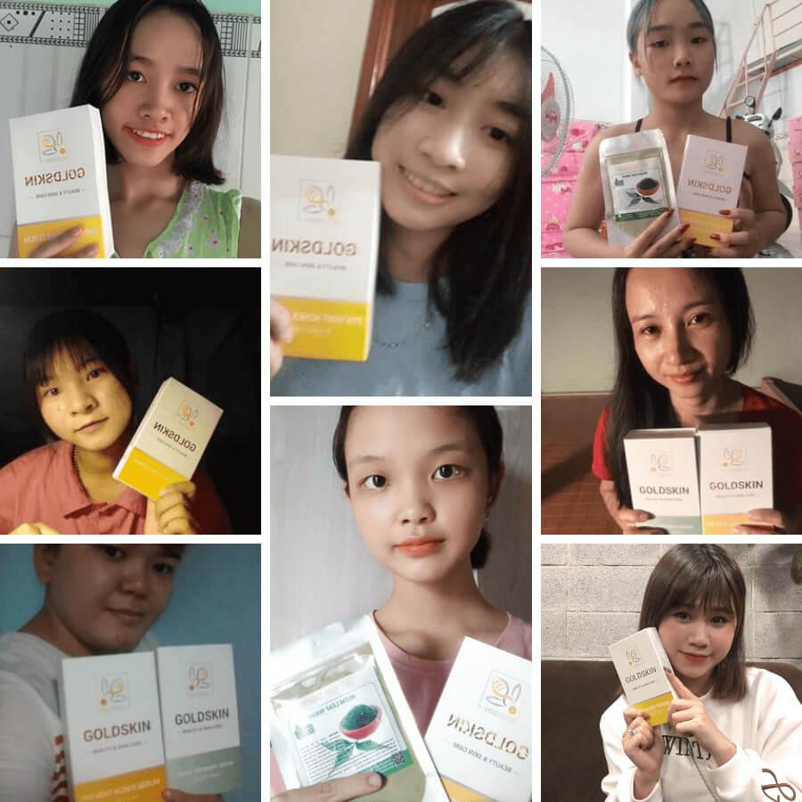 Goldskin - thương hiệu mỹ phẩm của Việt Nam được sản xuất hoàn toàn từ nguyên liệu thiên nhiên