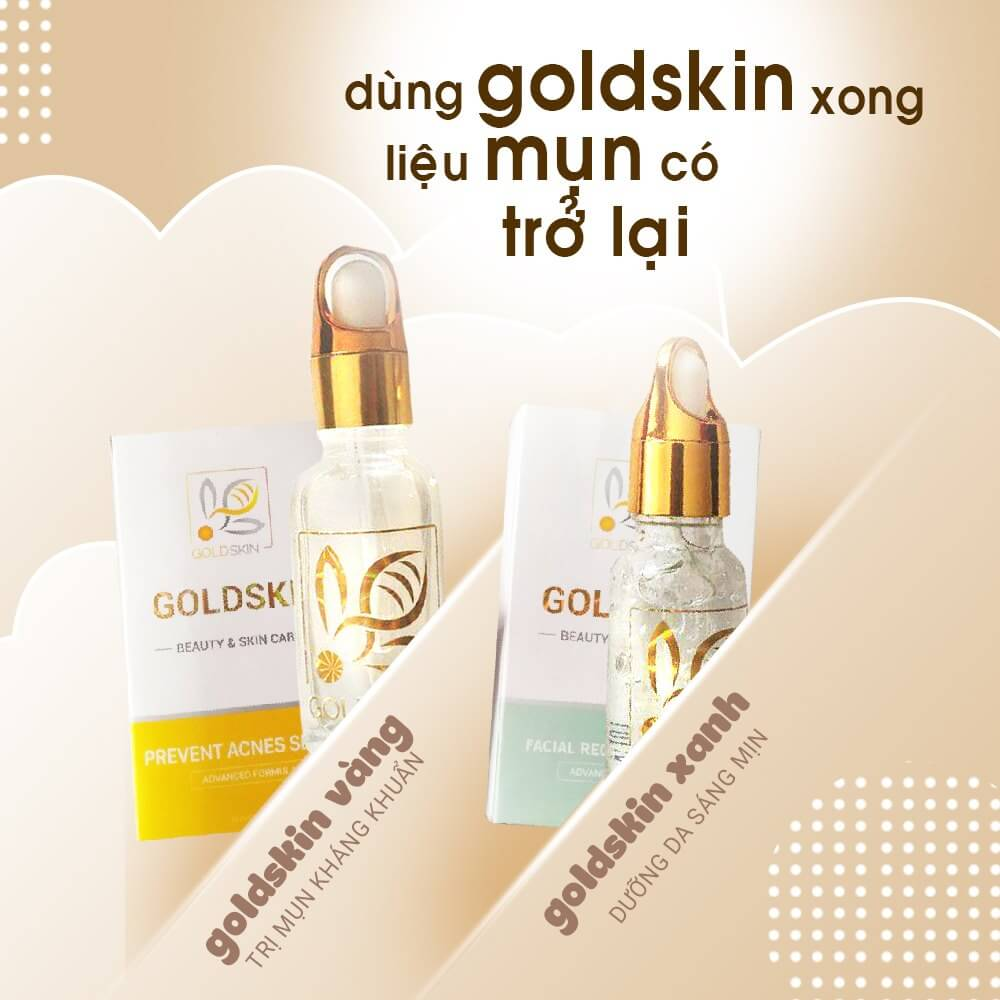 Serum Goldskin được chiết xuất từ các thành phần hoàn toàn từ thiên nhiên nên da vẫn mềm mịn khi sử dụng