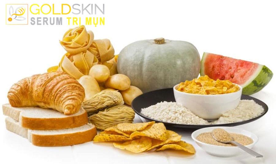 Các thực phẩm có glycaemic vượt mức sẽ khiến tình trạng mụn nghiêm trọng hơn.