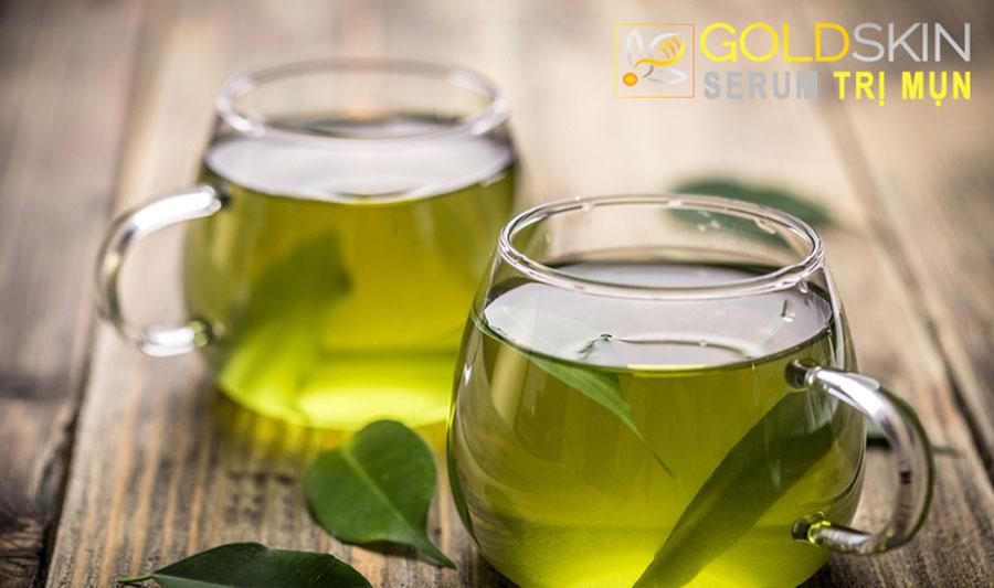 Trà xanh có tính năng kháng khuẩn và chống viêm