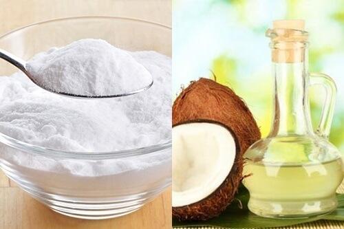 Kết hợp baking soda và dầu dừa là giải pháp đặc biệt phù hợp với những người sở hữu da bị khô