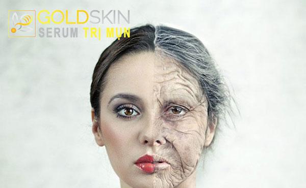 Theo thời gian, làn da của bạn sẽ dần lão hóa đi và xuất hiện nhiều nếp nhăn