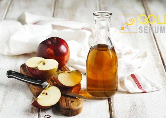 Giấm táo là một nguyên liệu khá phổ biến với những người yêu thích việc làm đẹp