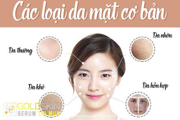 Cách chăm sóc các loại da: Da thường - khô - nhờn - hỗn hợp - nhạy cảm