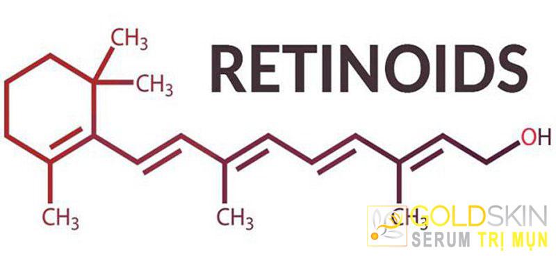 Retinoids giúp tẩy da chết lành tính có nguồn gốc từ vitamin A