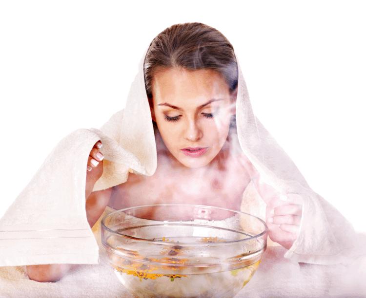 Xông hơi giúp da bạn được đào thải độc tố