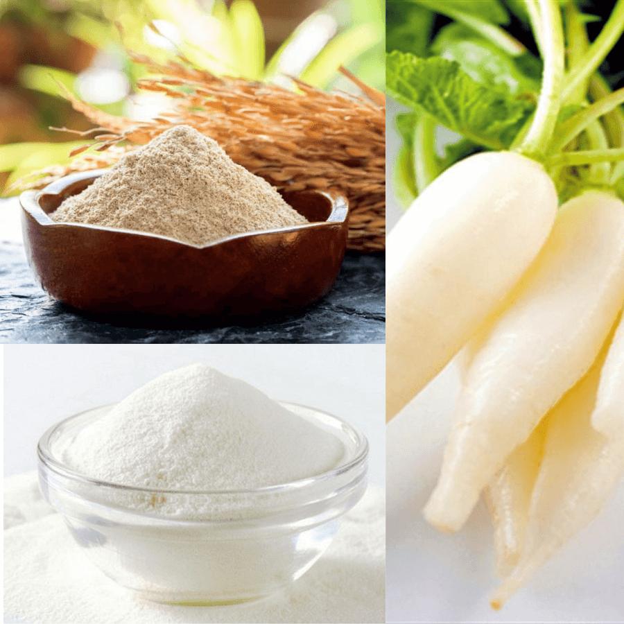 Ngoài trị mụn ẩn mặt sự kết hợp giữa 3 nguyên liệu này còn có công dụng giảm sưng viêm và mờ vết thâm sau mụn