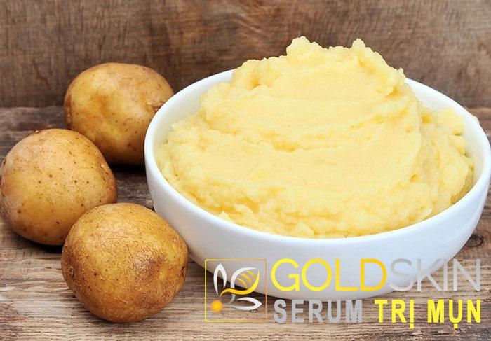 Khoai tây là một loại thực phẩm được sử dụng phổ biến và dễ kiếm ở khu chợ, siêu thị