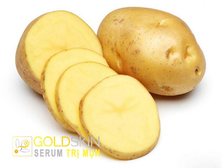 Khoai tây có hàm lượng tinh bột, muối khoáng, protein, vitamin C,…rất phong phú