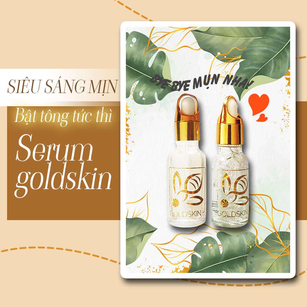 Serum Goldskin phù hợp với cả làn da nam và nữ