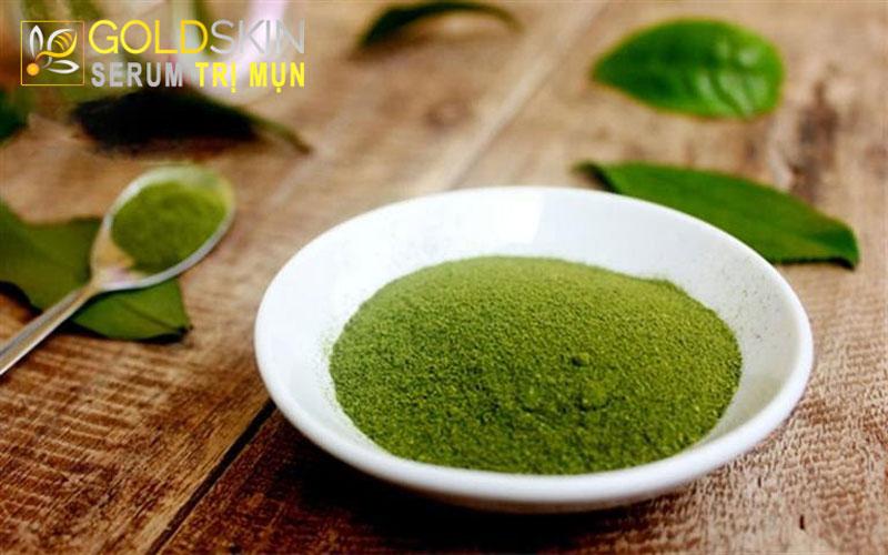 Trị mụn cám hiệu quả với Trà xanh, mật ong và đường