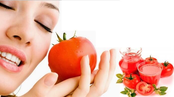 Quả cà chua có chứa nhiều chất có tính sát trùng cao