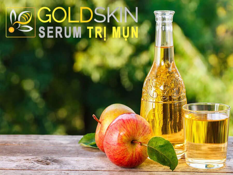 Giấm táo được biết đến rộng rãi nhờ công dụng để làm đẹp da