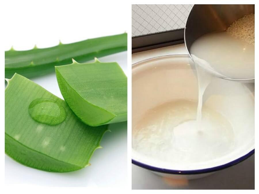 Nước vo gạo có chứa nhiều các vitamin, khoáng chất ở những hạt cám gạo