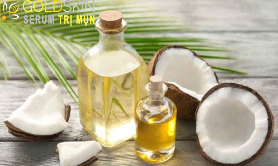 Axit béo có trong dầu dừa hỗ trợ phục hồi da