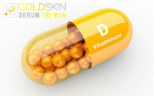 Người bị mọc mụn do nội tiết tốt cần bổ sung vitamin D với hàm lượng phù hợp
