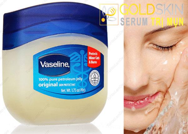 Vaseline là loại kem dưỡng ẩm có chứa một lượng nhỏ chất petroleum jelly