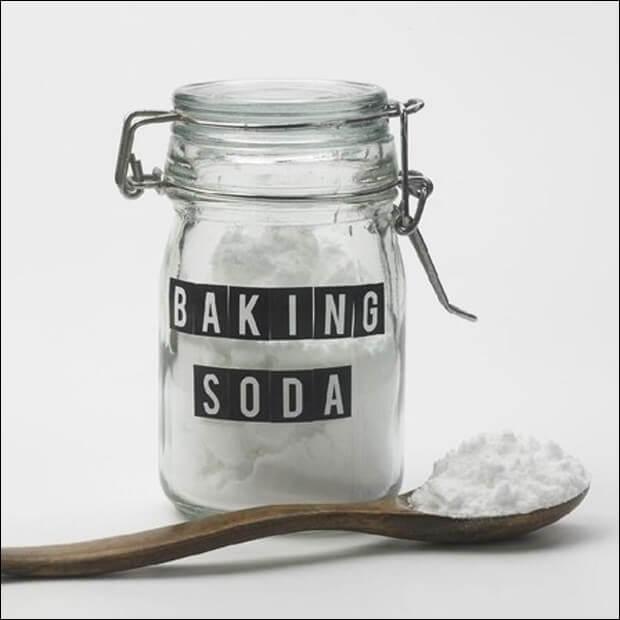 Cách trị mụn đầu đen với baking soda, bột gạo và nước chanh