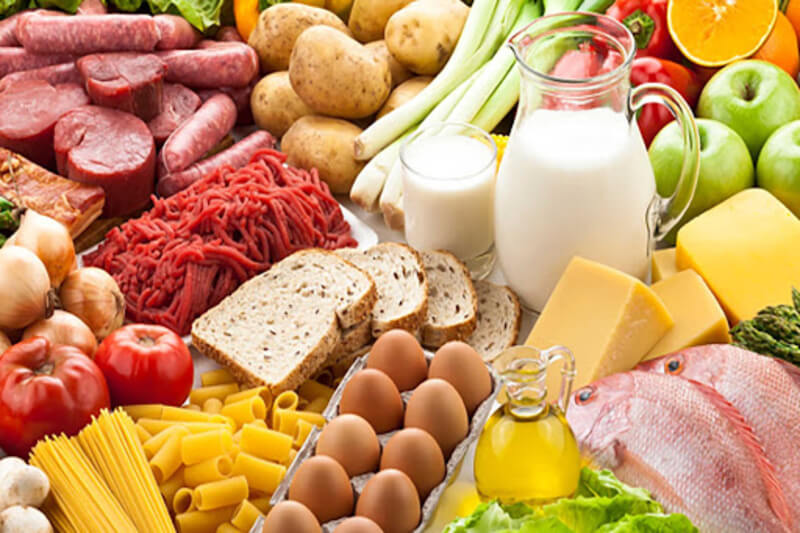 Cố gắng xây dựng và tham khảo chế độ ăn uống cân bằng