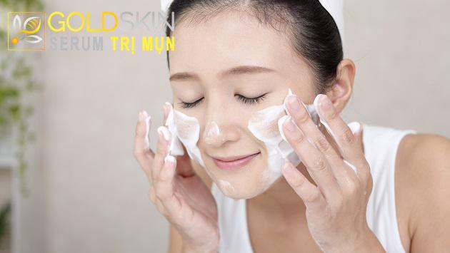 Sữa rửa mặt giúp loại bỏ tế bào chết, đem lại làn da khỏe mạnh