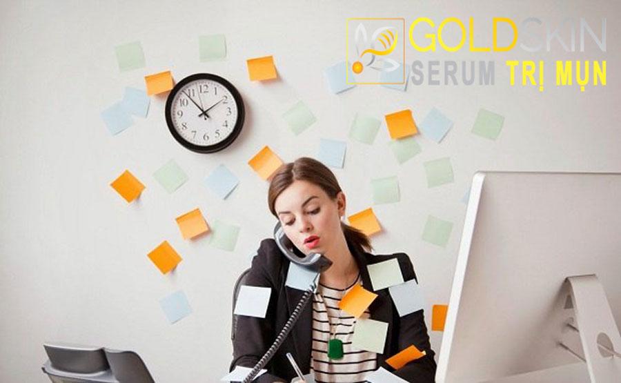 Stress làm tăng nguy cơ bị nám da.