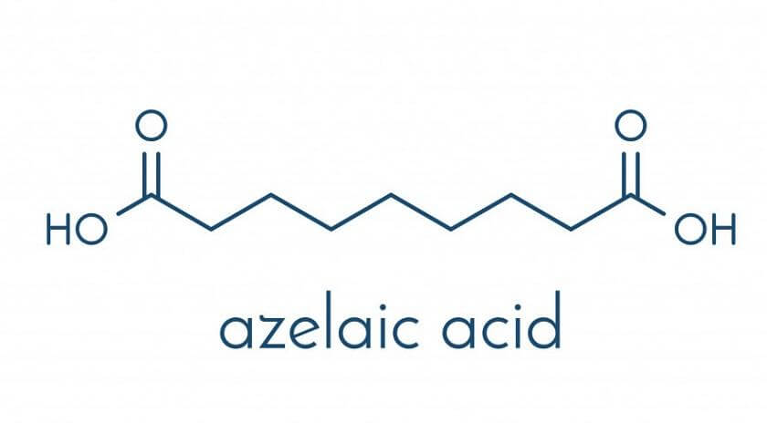 Azelaic acid giúp giảm tình trạng sưng viêm đỏ của mụn