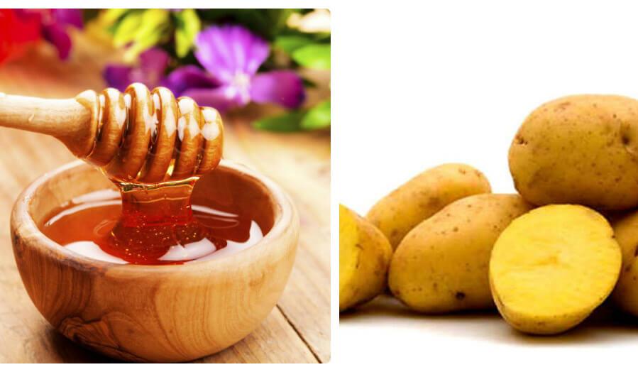 Khoai tây chứa nhiều các vitamin, chất xơ, photpho, cellulose, kích thích việc sản sinh collagen