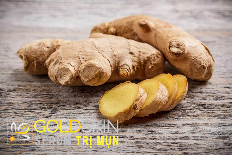Củ gừng chứa nhiều chất Vitamin khoáng chất cũng như các loai Acid Amin sẽ giúp tiêu diệt vi khuẩn